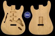 Fender Stratocaster ® Thinline body Electric guitar American Alder unique
