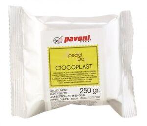 Modellier Schokolade 250 gramm gelb