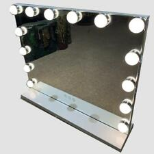 White Hollywood Mirror Vanity LED Light Bulb 17 Makeup Large 70cm X 55cm