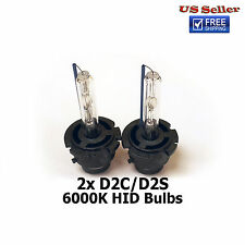 2x New D2S HID Xenon Headlight Replacement Bulb for Philips or OSRAM OEM Lights