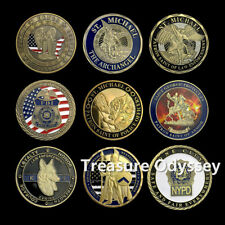 Police NYPD Challenge Coin Lot Reloaded Featured Gift Law Enforcement Collection