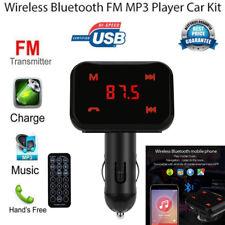 Bluetooth Auto FM LCD Transmitter Wireless MP3 TF Radio Adapter USB Ladegerät