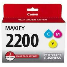 Canon PGI-2200 Ink Color Cyan Magenta Yellow 3 Pack