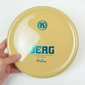 🔥♻️ Kastaplast K1 Berg, SPECIAL Regrind Disc, Teal Stamp, 170g