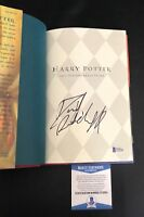DANIEL RADCLIFFE SIGNED HARRY POTTER AND THE SORCERERS STONE HARDCOVER BECKETT 6