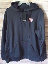 NFL New York Giants Dunbrooke Tech Fleece Hoodie Sweatshirt ~ Medium Navy NWT