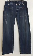 Diesel Men's Jeans 34 Rare Distressed One Back Pocket Cardiel Button Fly D1