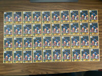 (40) 1987 Topps Bo Jackson Rookie #170 Future Stars Kansas City Royals As Shown