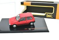 MODELLINO AUTO FIAT UNO 1 TURBO IE IXO SCALA 1/43 DIECAST CAR MODEL MINIATURE .
