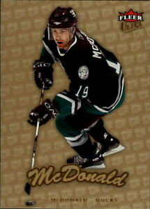 2006-07 Ultra Hockey Gold Medallion Parallel Singles - You Choose