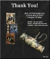 Call Coozy Complete game call duck call goose hunting