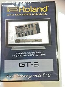 Roland Gt 6 pro audio dvds video dvd help tutorial training lesson