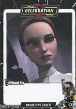 Catherine Taber Official Pix Star Wars Autograph Trading Card Celebration V