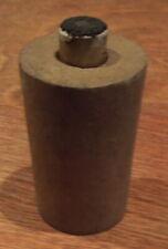 Original Civil war paper time fuse and wood fuse adapter