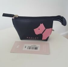RADLEY MONO DOG  NAVY BLUE SMALL COIN PURSE NEW RRP £29