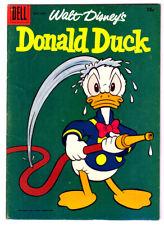 Walt Disney's DONALD DUCK #60 in FN/VF DELL 1958 Golden Age comic CARL BARKS art