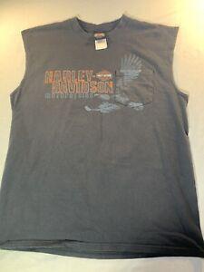 harley davidson sleeveless shirt Large