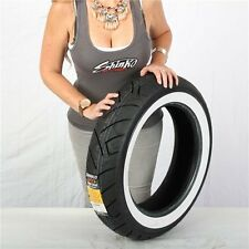 150/80-16 4 Ply Shinko 777 Heavy Duty White Wall Rear Tire
