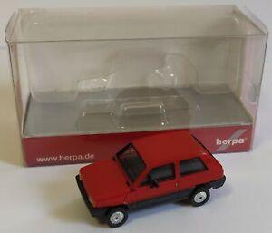 Herpa 1/87 H0 Fiat Panda 45 Red