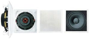 "Pyle Home Audio PDIWS10  10"" In-Wall High Power Subwoofer 8 Ohm 360 Watt Peak"