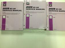 2009 CHEVY IMPALA Service Shop Repair Manual Workshop Set FACTORY BOOKS 09
