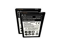 Samsung Galaxy Note 3 SM N900V 2X Battery Replaceent Extra Spare Verizon USA