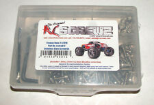TRAXXAS REVO 2.5 RC SCREWZ SCREW SET STAINLESS STEEL TRA012