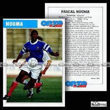 NOUMA PASCAL (PARIS SAINT-GERMAIN PSG, LILLE OSC LOSC) - Fiche Football 1993