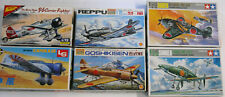 Instant Air Force 6 Japanese WW2 Fighter kits Tamiya LS Aoshima Nichimo 1/72