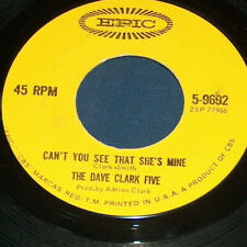 45 RPM Dave Clark Five No Time To Lose See That She's Mine Epic Record 9692 VG+
