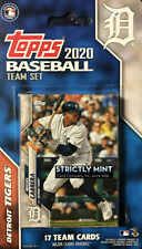 Detroit Tigers 2019 Topps Factory Sealed Special Edition 17 Card Team Set with Miguel Cabrera Plus