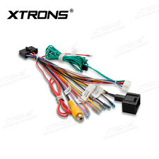 XTRONS ISO Wiring Harness Kabelbaum für Mercedes-Benz E CLS Power Strom cable