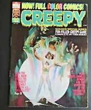 Creepy issue 56  1973.  VG/Fn.  Richard Corben.  Warren Magazines.