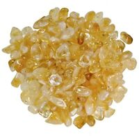 "1/2 lb Wholesale Tumbled Citrine - 1/2"" to 3/4"" - Crystal Healing, Reiki, Wicca"