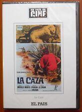 La Caza [DVD] EL PAÍS,Carlos Saura,Ismael Merlo,José Mª Prada,Alfredo Mayo NUEVO