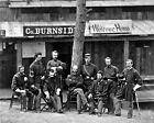New 8x10 Civil War Photo: Union General Abrose Burnside & Men, 1st Rhode Island