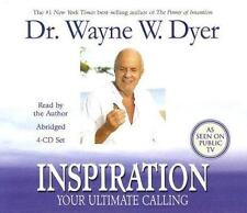 Inspiration:Your Ultimate Calling by Wayne W. Dyer 4-CD Set, Abridged NEW