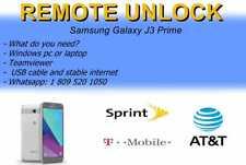 remote unlock samsung j3 prime