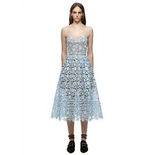 SELF PORTRAIT Azaelea Azalea Dress Sky Blue, Size US 2