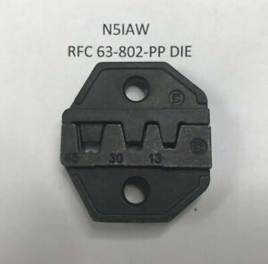 Die Set For Crimping 15/30/45 Amp Anderson Power Pole Type & Similar Connectors