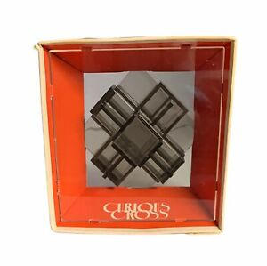 Vintag Curious Cross By Mag-Nif Inc USA 1971 Puzzle Skill Game