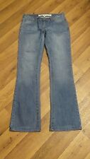 *Charlotte Russe* Wmn's 4 Low Whisker Stretch 5 Pkt Everyday Boot Jeans 28x32