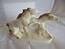 50er- & 60er-Jahre Porzellan-Figuren mit Pferde-Motiv