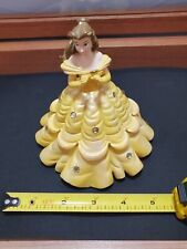 "Princess Belle - Walt Disney Ceramic/Clay ""secret compartment"" vtg collectible!"
