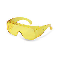 UV385 Yellow Lens Over Glasses Safety Protective Eyewear Anti-Fog CE ANSI Z87