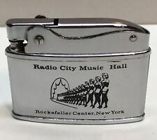 Radio City Music Hall Rockettes Rockefeller Center New York Vintage Lighter