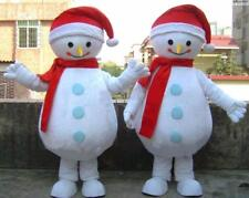 2019 Cosplay Christmas Snowman Costume Suits Mascot Party Game Adult Suit