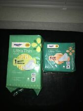 Equate Pads Ultra Then New Unopened Packages Lot of 2 Feminine Hygiene