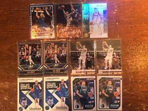 2019-20 Luka Doncic Lot 11 cards Dallas Mavericks see description for cards