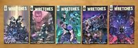 Wretches 1,2,3,4,5  Salo Farias Main Covers 1st Prints Scout Comics NM